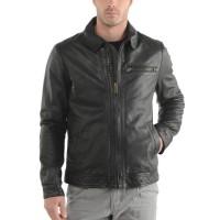 Laverapelle Men's Genuine Cowhide Leather Jacket (Aviator Jacket) - 1501047