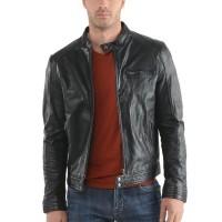 Laverapelle Men's Genuine Cowhide Leather Jacket (Racer Jacket) - 1501624