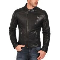 Laverapelle Men's Genuine Cowhide Leather Jacket (Fencing Jacket) - 1501581