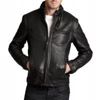 Laverapelle Men's Genuine Cowhide Leather Jacket (Fencing Jacket) - 1501582