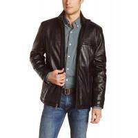 Laverapelle Men's Genuine Lambskin Leather Jacket (Classic Jacket) - 1501135
