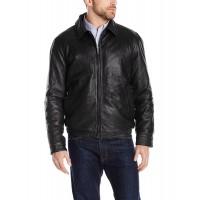 Laverapelle Men's Genuine Lambskin Leather Jacket (Aviator Jacket) - 1501379