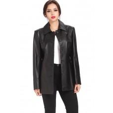 Laverapelle Women's Genuine Lambskin Leather Coat - 1510689