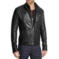 Laverapelle Men's Genuine Cowhide Leather Jacket (Racer Jacket) - 1501061