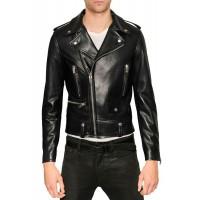 Laverapelle Men's Genuine Cowhide Leather Jacket (Double Rider Jacket) - 1501583