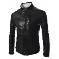 Laverapelle Men's Genuine Cowhide Leather Jacket (Fencing Jacket) - 1501630