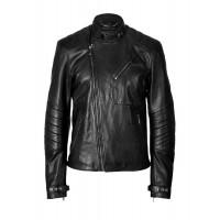 Laverapelle Men's Genuine Cowhide Leather Jacket (Fencing Jacket) - 1501036