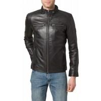Laverapelle Men's Genuine Lambskin Leather Jacket (Racer Jacket) - 1501578