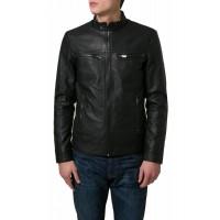 Laverapelle Men's Genuine Lambskin Leather Jacket (Racer Jacket) - 1501517
