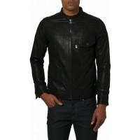 Laverapelle Men's Genuine Lambskin Leather Jacket (Classic Jacket) - 1501057