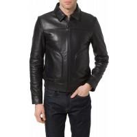 Laverapelle Men's Genuine Cowhide Leather Jacket (Aviator Jacket) - 1501278