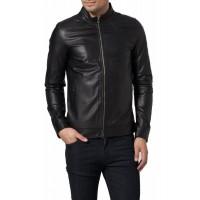 Laverapelle Men's Genuine Cowhide Leather Jacket (Racer Jacket) - 1501440