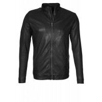 Laverapelle Men's Genuine Lambskin Leather Jacket (Classic Jacket) - 1501279