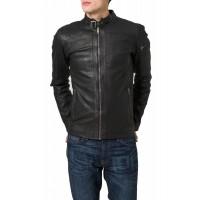 Laverapelle Men's Genuine Lambskin Leather Jacket (Racer Jacket) - 1501528