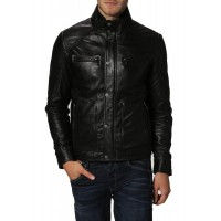 Laverapelle Men's Genuine Cowhide Leather Jacket (Fencing Jacket) - 1501234