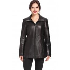 Laverapelle Women's Genuine Lambskin Leather Coat - 1510692