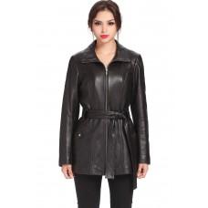 Laverapelle Women's Genuine Lambskin Leather Coat - 1510691