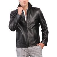 Laverapelle Men's Genuine Lambskin Leather Jacket (Aviator Jacket) - 1501587