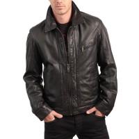 Laverapelle Men's Genuine Lambskin Leather Jacket (Aviator Jacket) - 1501405