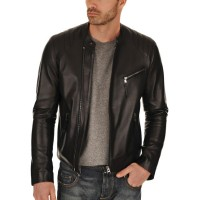 Laverapelle Men's Genuine Lambskin Leather Jacket (Fencing Jacket) - 1501548