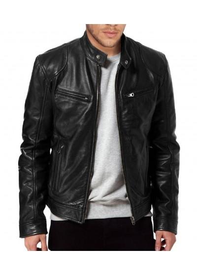Laverapelle Men's Genuine Lambskin Leather Jackets - 1510533