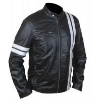 Laverapelle Men's Genuine Lambskin Leather Jacket (Racer Jacket) - 1501163