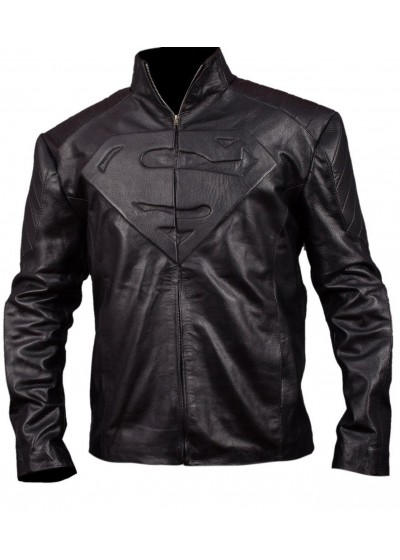 Laverapelle Superman Man of Steel Synthetic Leather Jacket (Fencing Jacket) - 1501839