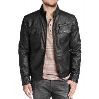 Laverapelle Men's Genuine Lambskin Leather Jacket (Regal Jacket) - 1501332