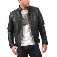 Laverapelle Men's Genuine Lambskin Leather Jackets - 1510344