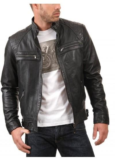 Laverapelle Men's Genuine Lambskin Leather Jackets - 1510344
