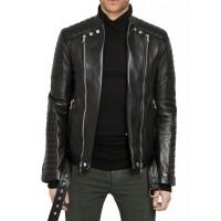 Laverapelle Men's Genuine Lambskin Leather Jacket (fencing Jacket) - 1501356