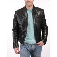 Laverapelle Men's Genuine Lambskin Leather Jacket (Classic Jacket) - 1501198