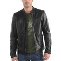 Laverapelle Men's Genuine Lambskin Leather Jacket (Classic Jacket) - 1501272