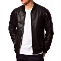 Laverapelle Men's Genuine Lambskin Leather Jacket (Bomber Jacket) - 1501361