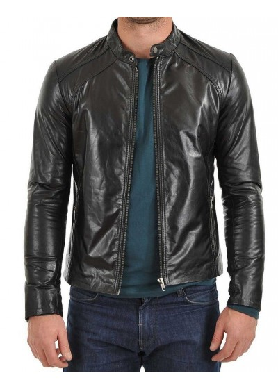 Laverapelle Men's Genuine Lambskin Leather Jackets - 1510343