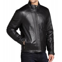 Laverapelle Men's Genuine Lambskin Leather Jacket (Classic Jacket) - 1501168