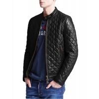 Laverapelle Men's Genuine Lambskin Leather Jacket (Fencing Jacket) - 1501324