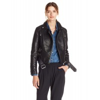 Laverapelle Women's Genuine Cowhide Leather Jacket (Double Rider Jacket) - 1521700