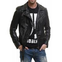 Laverapelle Men's Genuine Lambskin Leather Jacket (Moto Jacket) - 1501177