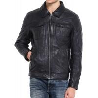 Laverapelle Men's Genuine Lambskin Leather Jacket (Regal Jacket) - 1501205