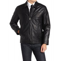Laverapelle Men's Genuine Lambskin Leather Jacket (Aviator Jacket) - 1501282