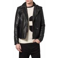 Laverapelle Men's Genuine Lambskin Leather Jacket (Double Rider Jacket) - 1501188