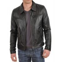Laverapelle Men's Genuine Lambskin Leather Jacket (Classic Jacket) - 1501059