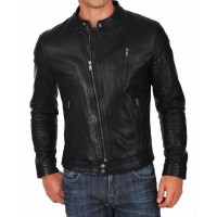 Laverapelle Men's Genuine Lambskin Leather Jacket (Classic Jacket) - 1501072