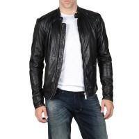 Laverapelle Men's Genuine Lambskin Leather Jacket (Classic Jacket) - 1501011
