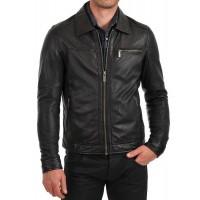 Laverapelle Men's Genuine Lambskin Leather Jacket (Classic Jacket) - 1501091