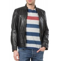 Laverapelle Men's Genuine Lambskin Leather Jacket (Classic Jacket) - 1501654