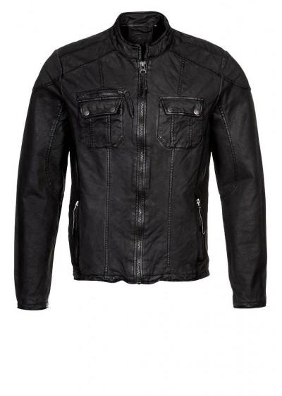 Laverapelle Men's Genuine Lambskin Leather Jacket (Regal Jacket) - 1501655