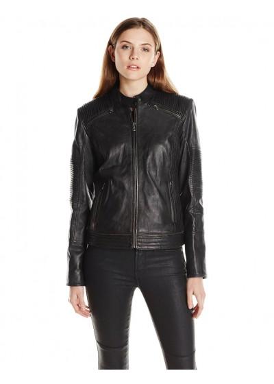 Laverapelle Women's Genuine Lambskin Leather Jackets - 1510761