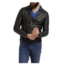Laverapelle Men's Genuine Lambskin Leather Jacket (Double Rider Jacket) - 1501508